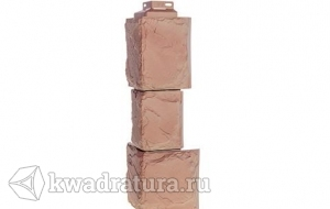 Угол наружний для фасада серия Камень крупный