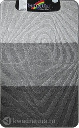 Коврик для ванной комнаты SILVER двойной антрацит 60*100 + 50*60 см 202020 (00230)