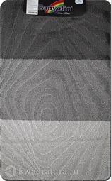 Коврик для ванной комнаты SILVER одинарный антрацит 60*100 см 202020 (00233)