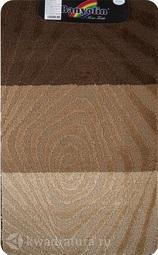Коврик для ванной комнаты SILVER одинарный коричневый 60*100 см 202020 (00234)