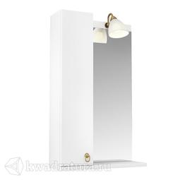 Зеркало Triton Реймс 50 см подсветка шкафчик СЛЕВА/СПРАВА