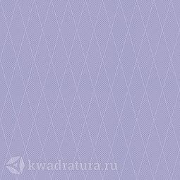 Напольная плитка плитка Ceramique Imperiale Сетка Кобальтовая фиолетовый 38,5*38,5 см