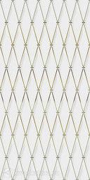 Декор для настенной плитки Ceramique Imperiale Сетка Кобальтовая белый 25*50 см