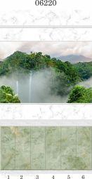Стеновая панель ПВХ Panda Тайна Природы 06220