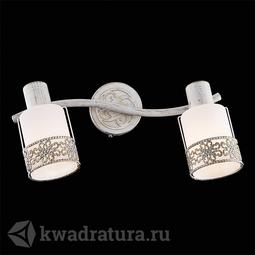 Настенный светильник (Бра) Eurosvet Silvia 20025/2 белый с золотом