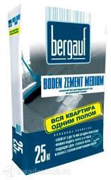 БЕРГАУФ Наливной быстротвердеющий пол на цементной основе Боден Цемент Медиум (25кг)