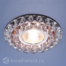 Встраиваемый точечный светильник Elektrostandard 2170 дымчатый прозрачный LED