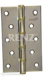 Петля дверная RENZ стальная 125*75*2,5 AB