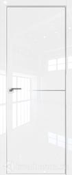 Дверь ProfilDoors 12LK белый люкс матовая хромка под скрытую систему Invisible