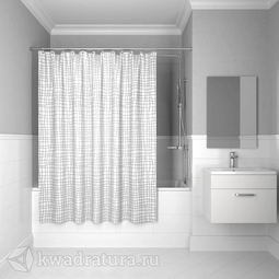 Шторка для ванной комнаты IDDIS Basic 180*200 см 341P20RI11