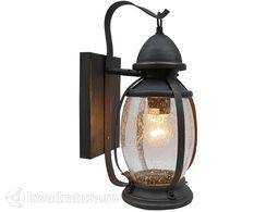 Настенный уличный светильник (Бра) Elektrostandard Antares D черное золото