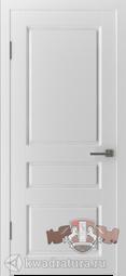 Межкомнатная дверь ВФД 15ДГ0 Честер Белый