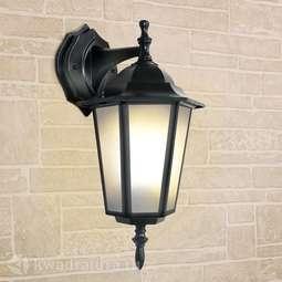 Настенный уличный светильник (Бра) Elektrostandard GL 1004D черный