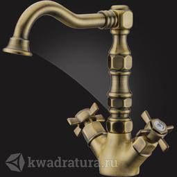 Смеситель для умывальника Elghansa PRAKTIC BRONZE 19A2660-Bronze