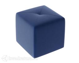 Пуф Тип 6 (Велюр Синий) ТР