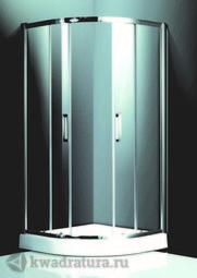 Душевой уголок Ticino ТО-А-302Н с 150 поддоном 100*100 см