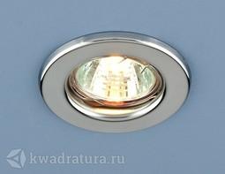 Встраиваемый точечный светильник Elektrostandard 9210 хром