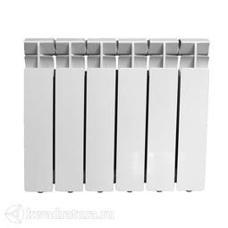 Радиатор алюминиевый 350*80*6 секций