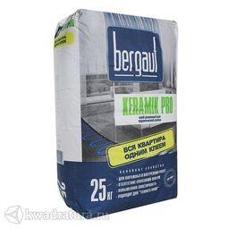 БЕРГАУФ Клей усиленный для плитки Керамик Про (25кг)