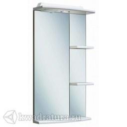 Шкаф зеркальный навесной Руно Азов 40 белый