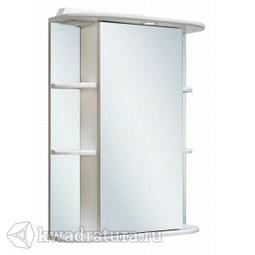 Шкаф зеркальный навесной Руно Гиро 60 правый белый