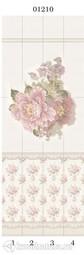 Стеновая панель ПВХ Panda Прованс цветы 01210