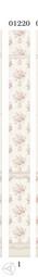Стеновая панель ПВХ Panda Прованс фон цветы 01220