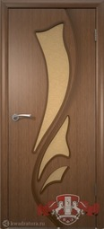Межкомнатная дверь ВФД 5ДО3 Лилия Орех