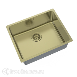 Кухонная мойка IDDIS Edifice нержавеющая сталь, бронза, 54 см., EDI54B0i77