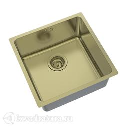 Кухонная мойка IDDIS Edifice нержавеющая сталь, бронза, 44 см., EDI44B0i77