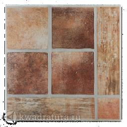 Керамогранит Евро-Керамика Палермо  красный 1 РL0013 33,3*33,3 см