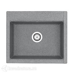 Кухонная мойка Aquaton Делия 60 (серый) 1A715232LD230
