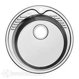 Кухонная мойка IDDIS Suno нержавеющая сталь, полированная, 51 см., SUN51P0i77