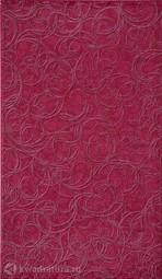 Настенная плитка InterCerama Brina темно-розовая 23*40 см
