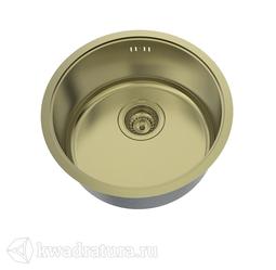 Кухонная мойка IDDIS Edifice нержавеющая сталь, бронза, 42,5 см., EDI42B0i77