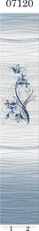 Стеновая панель ПВХ Panda Голубая лилия 07120
