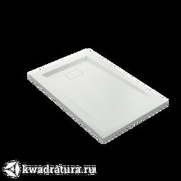 Поддон из литьевого мрамора Атриум 110*70 см без слива, без экрана