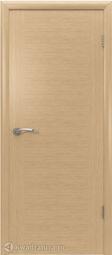 Межкомнатная дверь ВФД 8ДГ1 Рондо Светлый дуб