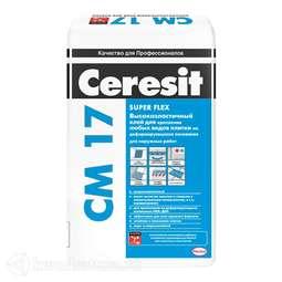 ЦЕРЕЗИТ CM17 Клей для плитки для внутр/наруж работ (25кг) 792212