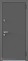 Дверь входная металлическая Бульдорс Термо 100 TD-2 Букле графит / ясень ривьера крем