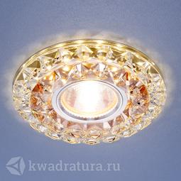 Встраиваемый точечный светильник Elektrostandard 2170 тонированный прозрачный LED