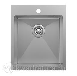 Кухонная мойка IDDIS Haze нержавеющая сталь, сатин, 43*51 см., HAZ43S0i77