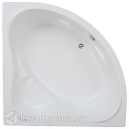 Акриловая ванна Бас Мега 160*160 БЕЗ ГИДРОМАССАЖА