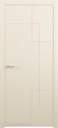 Межкомнатная дверь Фрегат (ALBERO) Бета ваниль глухое