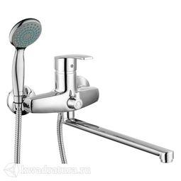Смеситель для ванны Gross Nord 7517514С-35L(F) длинный излив