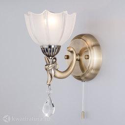 Настенный светильник (Бра) Eurosvet Evelina 29363/1 античная бронза