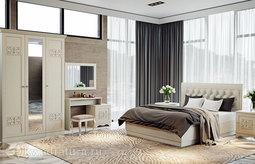 Двуспальная кровать «Саванна» с подъемным механизмом (Саванна) без матраса ТР
