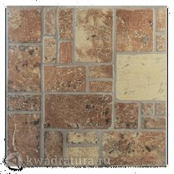 Керамогранит Евро-Керамика Таррагона красно-коричневый 1ТN0011 33*33 см