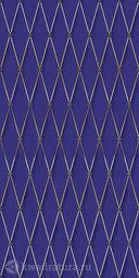 Декор для настенной плитки Ceramique Imperiale Сетка Кобальтовая синий 25*50 см