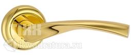 Дверная ручка TIXX Латунная Примо DH 203-04 GP